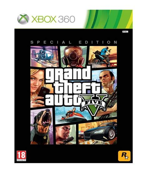 Buy GTA V Special Edition Xbox 360 Online at Best Price in