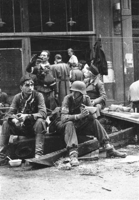 Photos From Behind The Barricades At The Warsaw Uprising