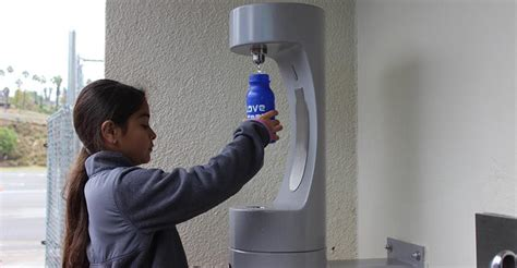 Hydration stations encourage the use of refillable water