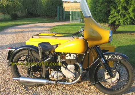 BSA M21 AA Patrol motorcycle combination outfit for sale
