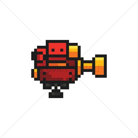 Game turret Vector Image - 1959539   StockUnlimited