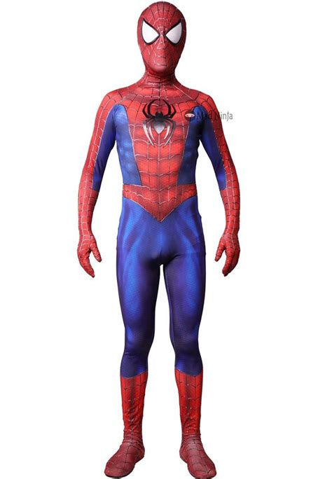 Ultimate Spider-man costume replica front view | Ultimate