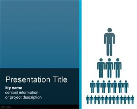 Free Organization Structure PowerPoint Template