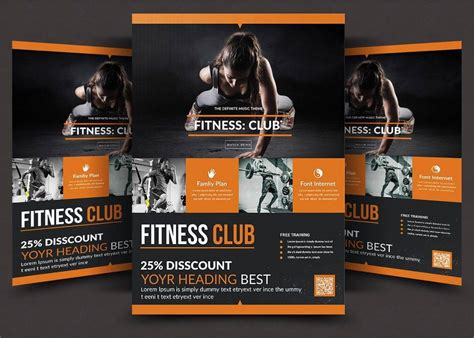 16 + Gym Flyer Designs & Examples - PSD, AI, Word, EPS