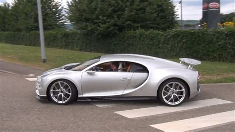 The new Bugatti Chiron on the road - YouTube