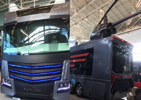 A luxury RV of your dreams - It comes with a helicopter