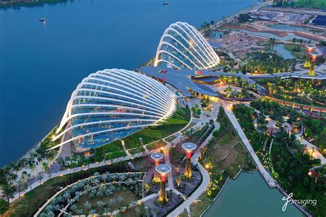 Gardens by the Bay - Aerial shot | Gardens by the Bay Add