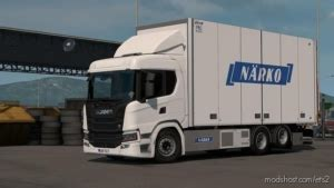 ETS2: Download Side Window Tinting For Scania P G R S By