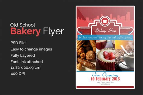 FREE 33+Bakery Flyer Templates in PSD | AI | Ms Word